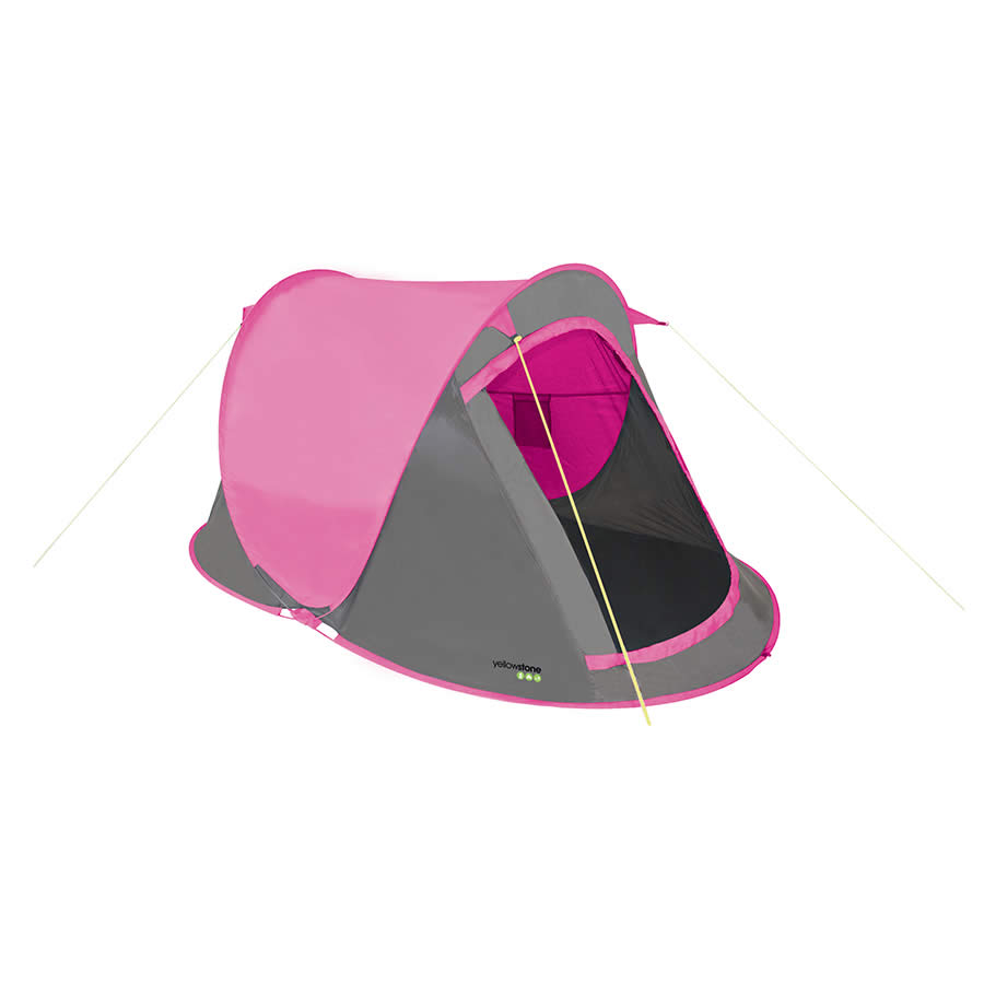 Pink 2 Man Pop Up Festival Tent  sc 1 st  Filthy Fox & Pink Pop Up Tent | Festival Tents | 2 Man Capacity