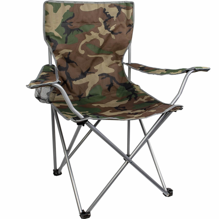 Camouflage Festival Camping Chair