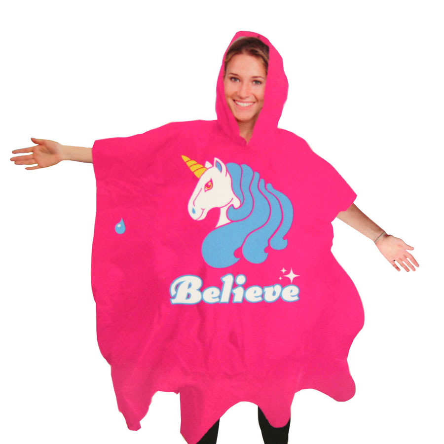 Unicorn Waterproof Poncho