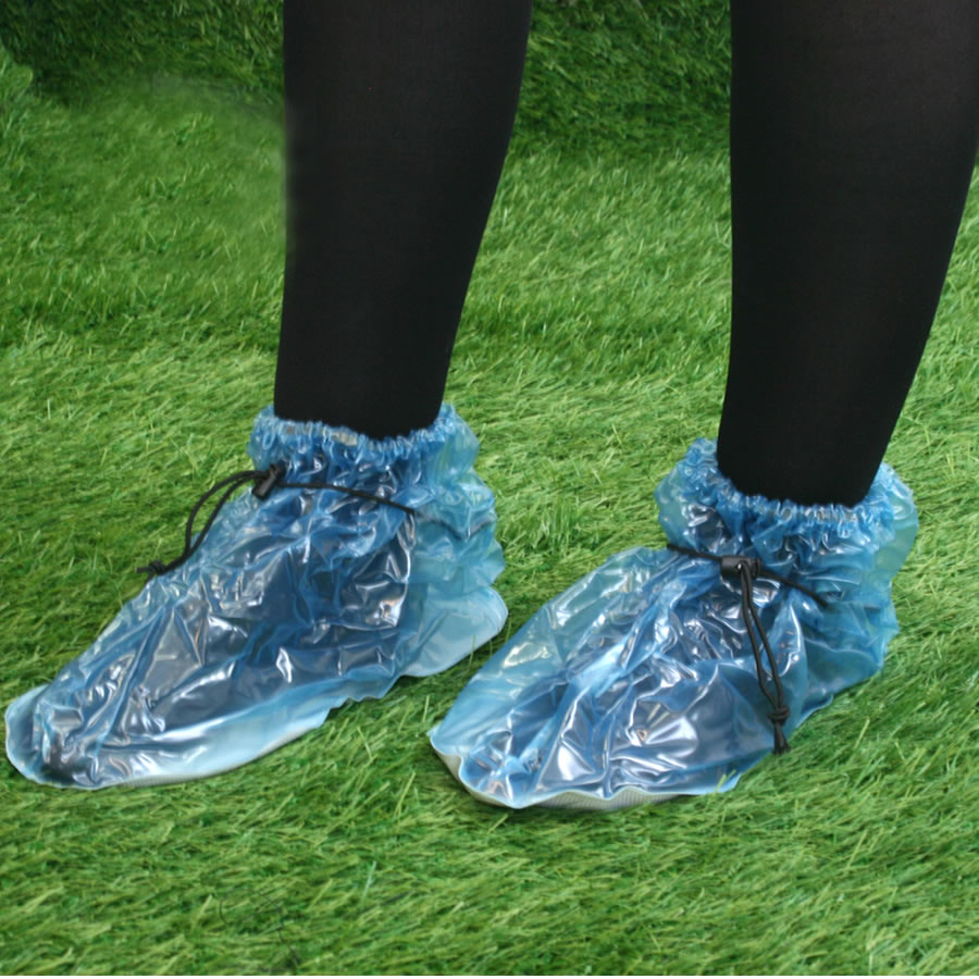Plastic Festival Shoe Covers Mud Amp Water Resistant