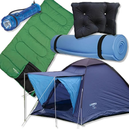 Cheap Festival Camping Kit Tent Sleeping Bag Amp Accessories