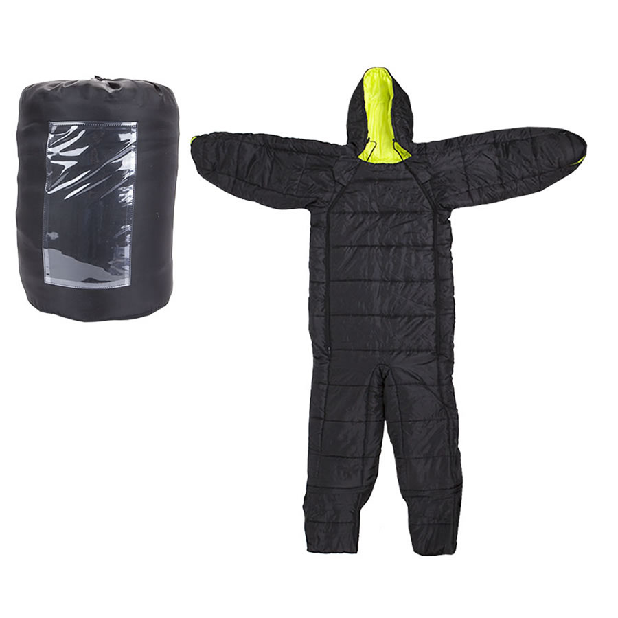 Black Festival Sleeping Bag Suit - Medium