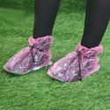 Pink Festival Shoe Covers