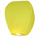 Yellow Flying Sky Lantern
