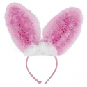 Flashing Pink Bunny Ears