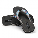 Men's Grey Surfer Flip Flops