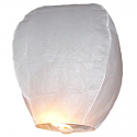 White Flying Sky Lantern
