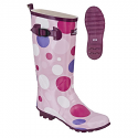 Spotty Pink Festival Wellies