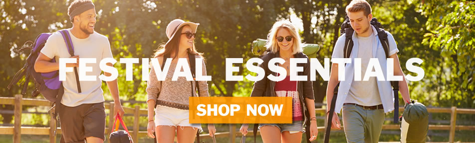festival essentials shop now